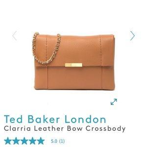 Clarria Leather Crossbody